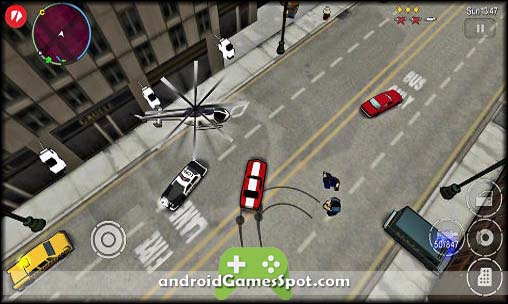 Grand Theft Auto Chinatown Wars free android games