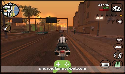 Grand Theft Auto San Andreas free android games