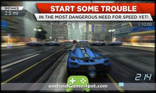 Need for Speed Most Wanted free games for android