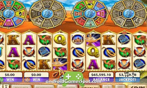 Mystic Genie Slots game apk free download