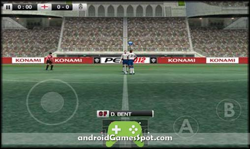 Pro Evolution Soccer 2012 free android games apk download