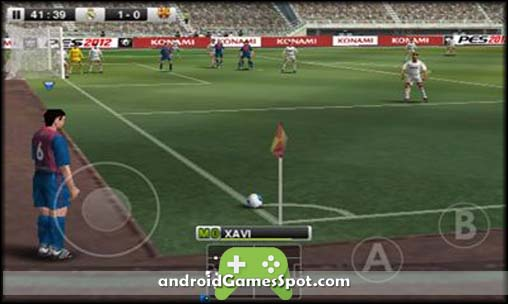 Pro Evolution Soccer 2012 free games for android apk download