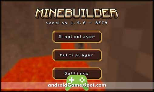 Minebuilder free android games apk download