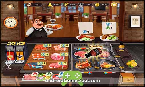 Kitchen Cooking Madness game apk free download